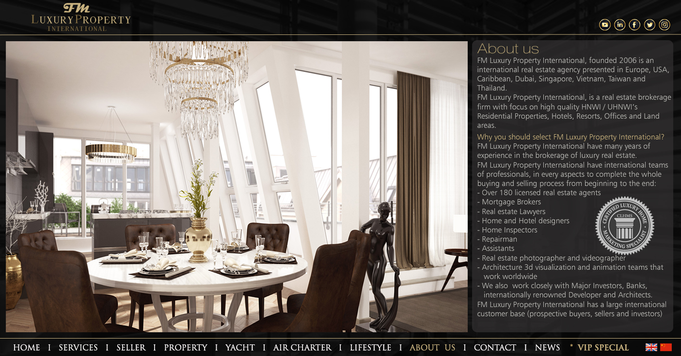 FM Luxury property, about us